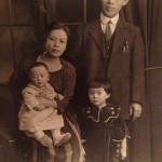 Tamako Matsuda and Family