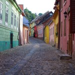 The old colorful streets