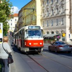 Trolly System in Prague