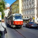 Trolly System in Prague