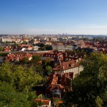View from the Castle over Prague